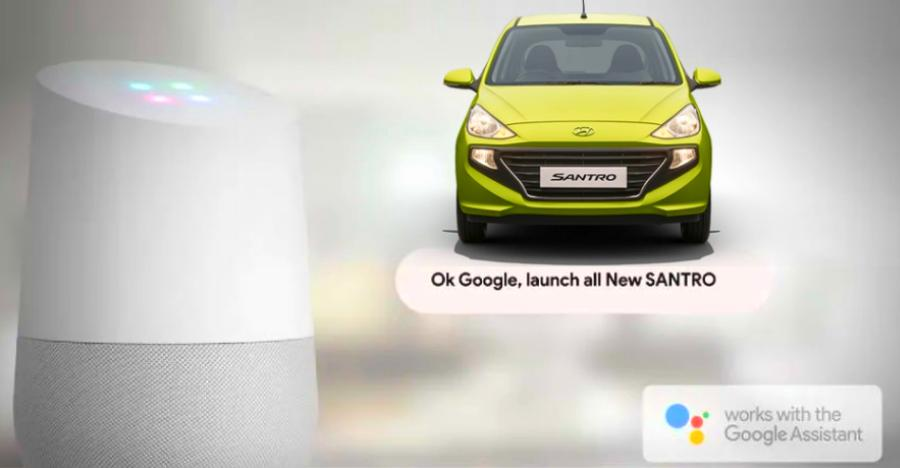 Hyundai Santro Google Assistant Featured