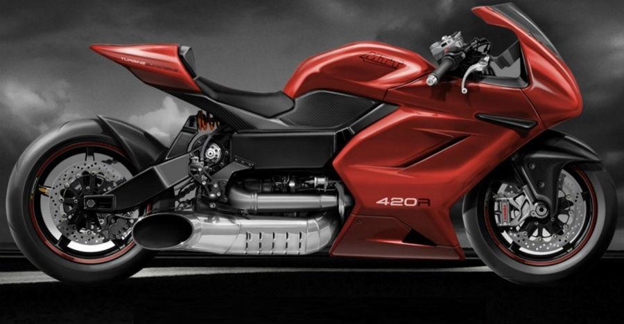 हेलिकॉप्टर के इंजन वाली बाइक, एक मोटरसाइकिल प्रेम ऐसा भी