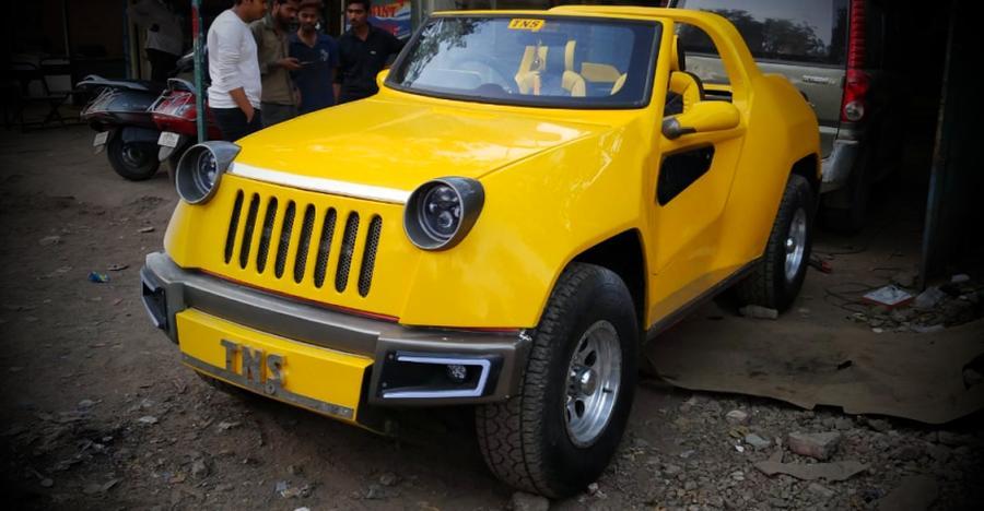 यह Jeep Renegade एक ज़माने में Maruti Gypsy हुआ करती थी