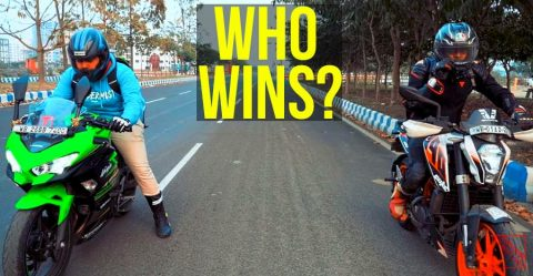 Ninja Vs Duke Race Featured