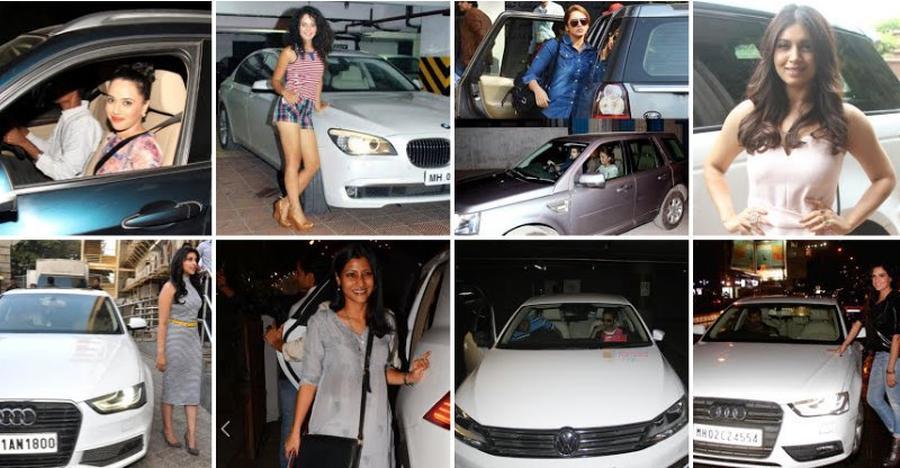 Kangana Ranaut से Gul Panag; कम मशहूर अभिनेत्रियों की बेहद मशहूर कार्स
