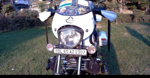 """Bajaj Avenger Cruise को किया गया एक """"टूरर बाइक"""" में मॉडिफाई"""