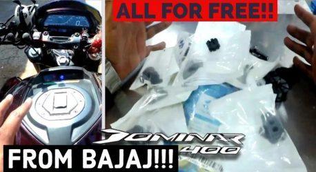 Bajaj Dominar Anti Vibration Kit 458x249