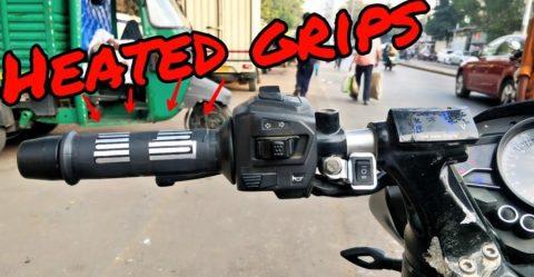 Bajaj Pulsar Heated Grips Featured