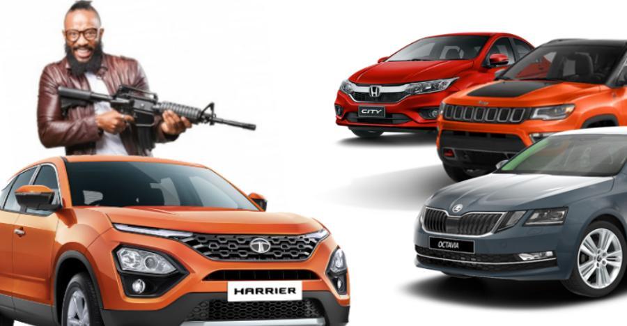 Honda City से Jeep Compass: कार्स और SUVs जिन्हें झेलनी पड़ेगी Tata Harrier की मार
