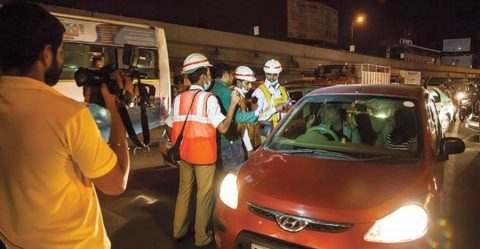 Hyderabad Police Anti Drink And Drive Featured
