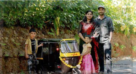 देखिये कैसे केरल के इस इंसान ने बनाया अपने बच्चों के लिए नायाब मिनी ऑटो-रिक्शा!