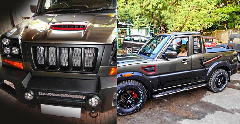 Mahindra Scorpio Customized Featured