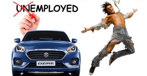 Maruti Dzire Unemployed Featured 480x249