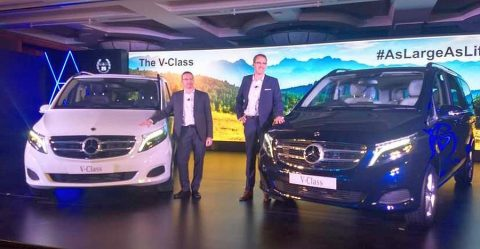 Mercedes Benz V Class Featured