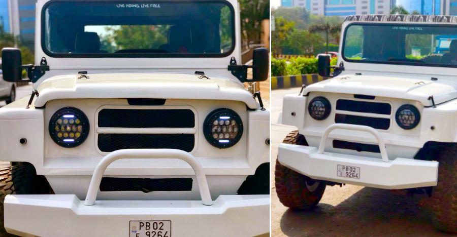 आप इस खूबसूरत रेस्टो-मॉडिफाइड Nissan Jonga को Maruti Gypsy से सस्ते में खरीद सकते हैं!