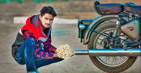 Royal Enfield Classic Popcorn Featured