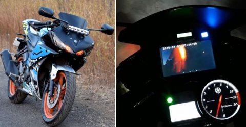 देखिये विश्व की पहली 'स्मार्ट' Yamaha R15, और इसे भारत में बनाया गया है