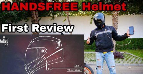Steelbird Handsfree Helmet Featured