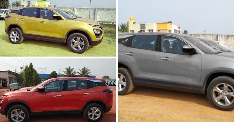Tata Harrier Colours Featured