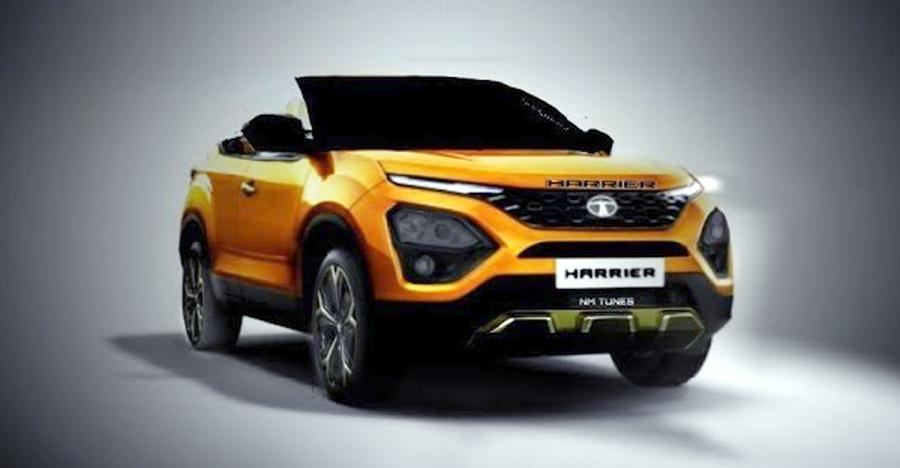 Tata Harrier Convertible Render Featured