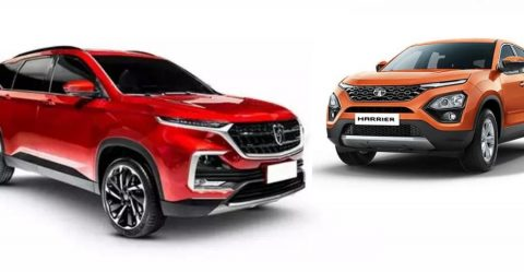 Tata Harrier Mg Suv Featured