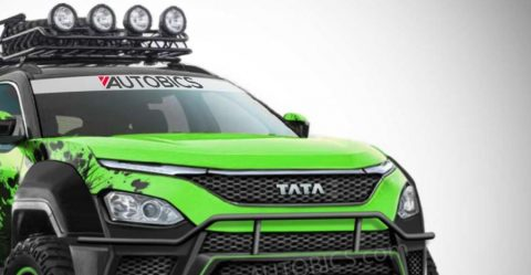 Tata Harrier Off Road Render Featured