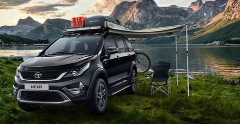 Tata Hexa Official Accesories Feature 480x249