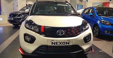 Tata Nexon Red Rhino Featured