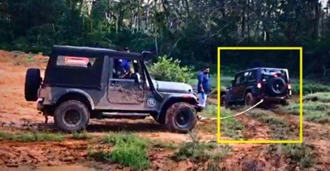 Wrangler Thar Rescue Features