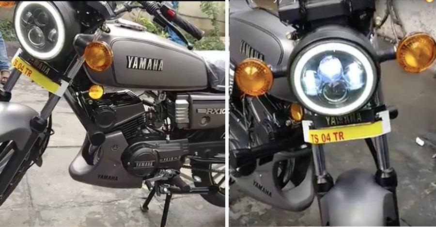 ये रीस्टोर की हुई Yamaha RX100 आपको निश्चित रूप से अपना फैन बना लेगी!
