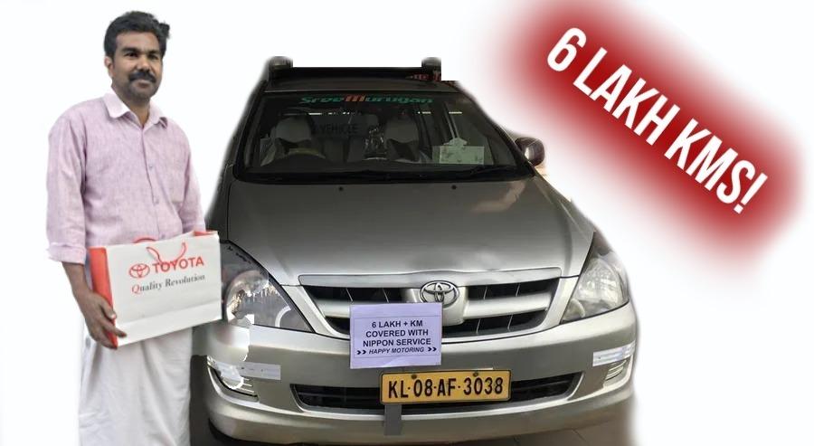 6 लाख किलोमीटर चली है ये Toyota Innova और अभी और दूर जाने को है तैयार!