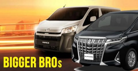 Hiace Alphard Featured