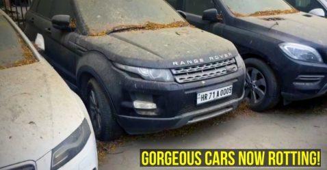 Abandoned Super Luxury Cars