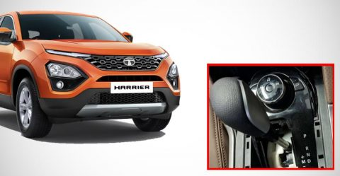 Tata Harrier Automatic Featured