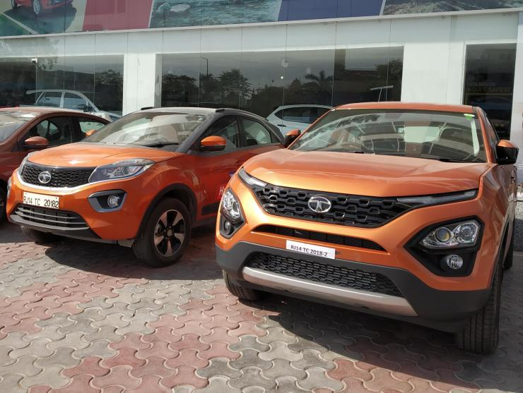 Tata Harrier Vs Tata Nexon 1