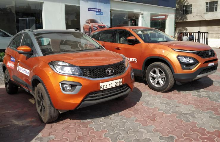 Tata Harrier Vs Tata Nexon 2