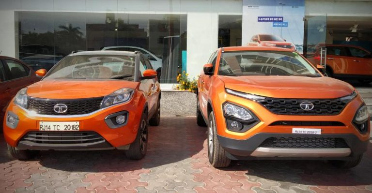 Tata Harrier Vs Tata Nexon Featured 768x399