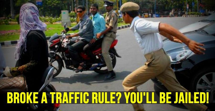 पहली बार ट्रैफिक नियम तोड़ने वाले ही सीधा जा रहे हैं जेल! हैदराबाद में मचा कोहराम