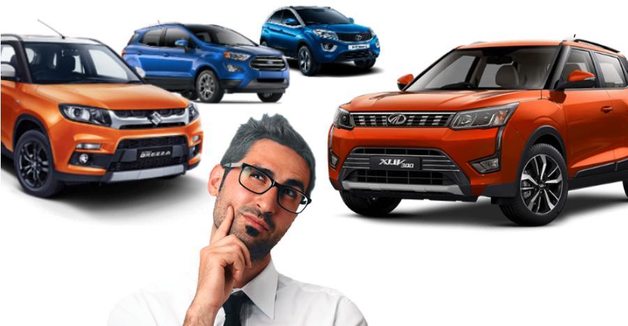 Mahindra XUV300 बनाम Maruti Brezza बनाम Tata Nexon बनाम Ford EcoSport: किसने मारी फीचर्स के मामले में बाज़ी
