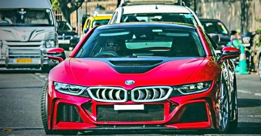 Sachin Tendulkar की BMW i8 को DC Design ने किया कस्टमाईज़