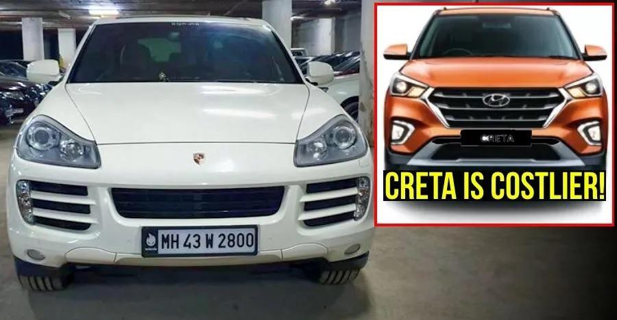 करोड़ों की Porsche Cayenne SUV एक Hyundai Creta से भी कम कीमत पर बिक रही है!