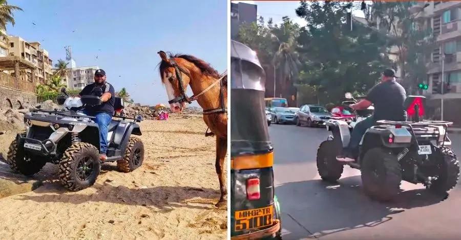 Powerland 900D: भारत की पहली रोड लीगल ATV को मुंबई की सड़कों पर चलते हुए देखिये