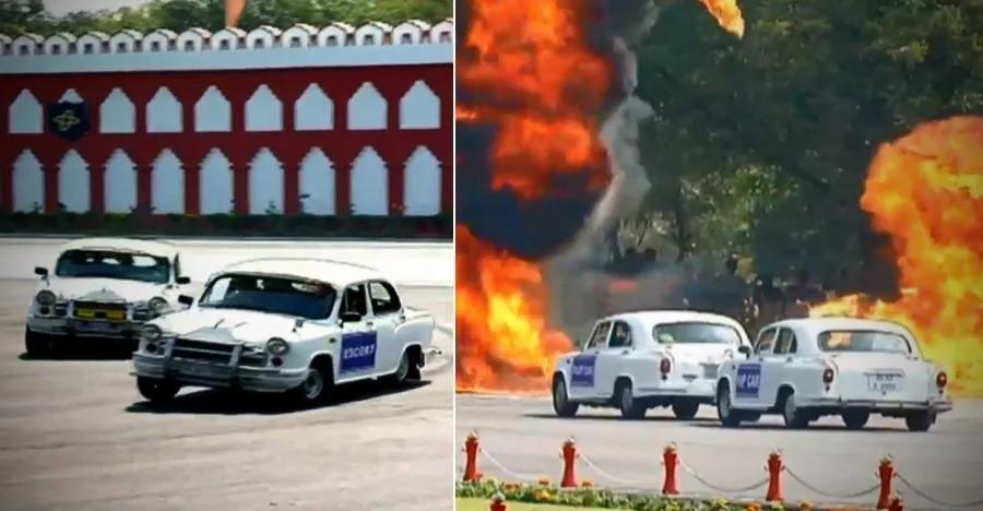 देखिये CISF जवान मुश्किल हालात में Hindustan Ambassadors को कितनी बहादुरी से चलाते हैं