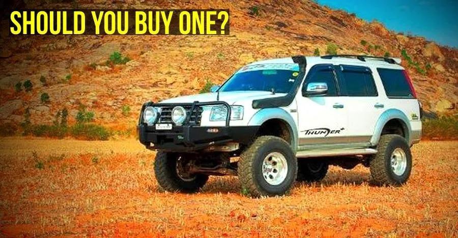 सेकंड हैण्ड Ford Endeavours सस्ते में मिल जाती हैं, लेकिन क्या इन्हें खरीदना चाहिए?