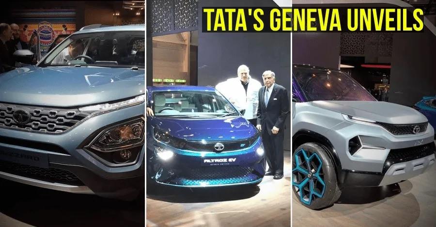Tata Altroz, Buzzard (H7X) SUV, H2X माइक्रो SUV और Altroz EV हुईं आधिकारिक तौर पर पेश!