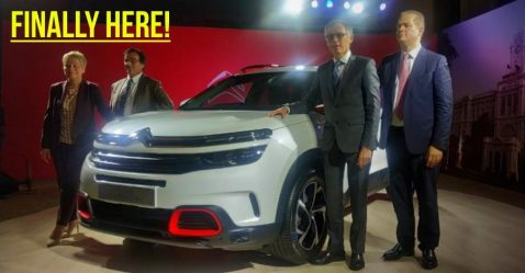 Citroen C5 Aircross Featured
