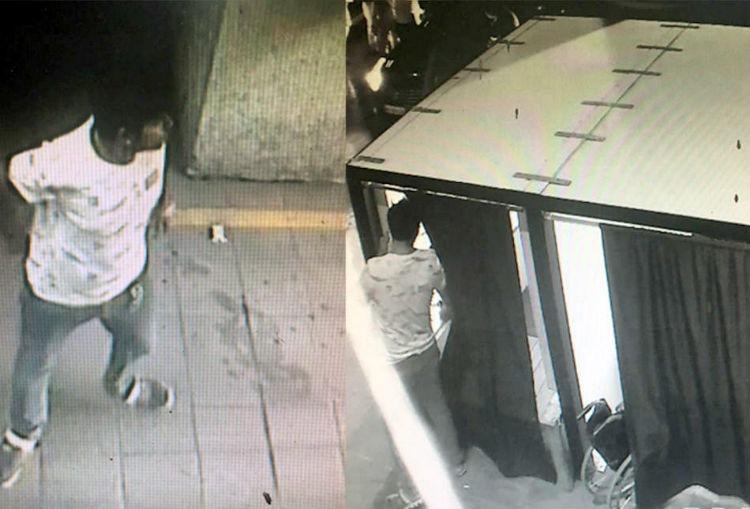 Mercedes Stolen