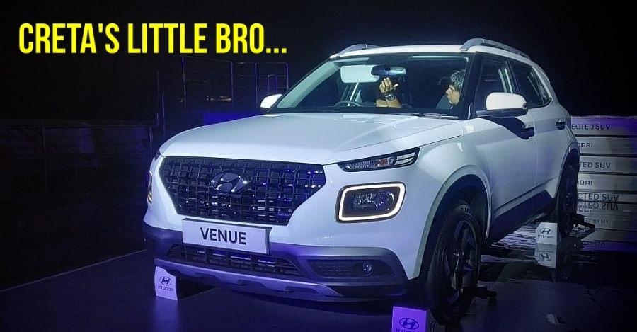 Maruti Brezza को टक्कर देने के लिए Hyundai ने पेश की अपनी Venue SUV