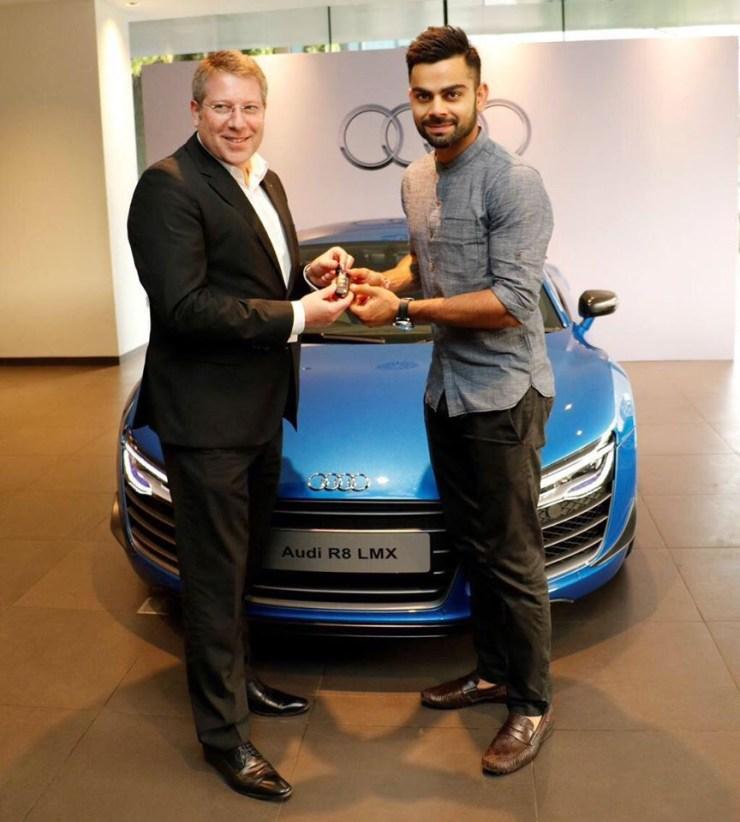Virat Kohli Audi R8 Lmx