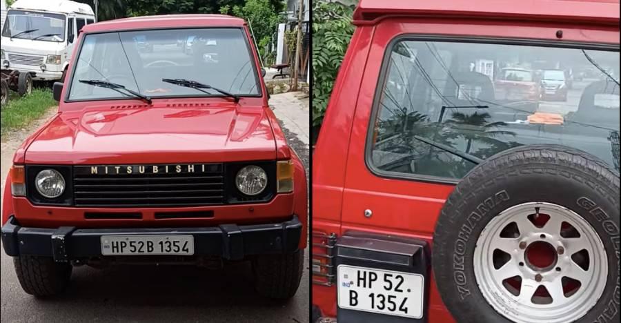 बिक्री के लिए दुर्लभ ने Mitsubishi Pajero SWB का उपयोग किया: S-Presso की तुलना में सस्ता