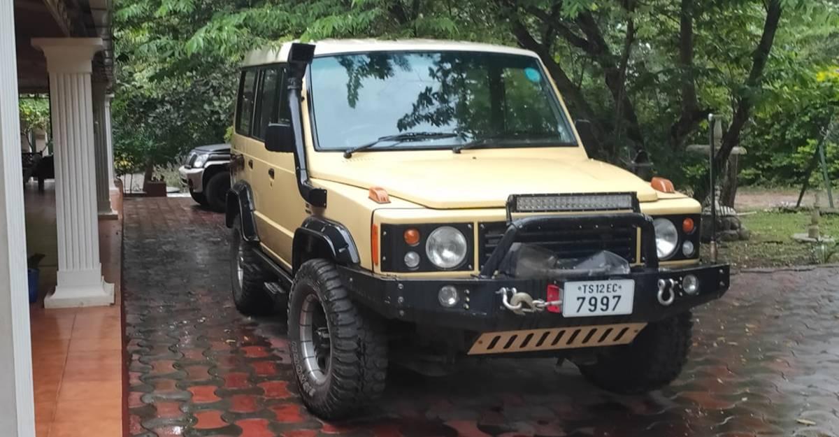 संशोधित Tata Sumo 4X4 Land Rover Defender से प्रेरित है