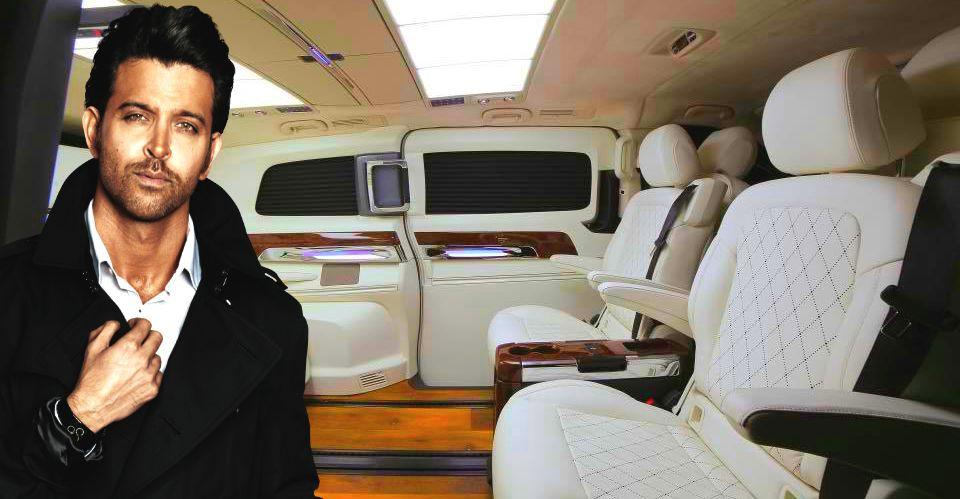 ऋतिक रोशन का डीसी डिज़ाइन द्वारा बनाया गया Mercedes V-Class शुद्ध रूप से शुद्ध है