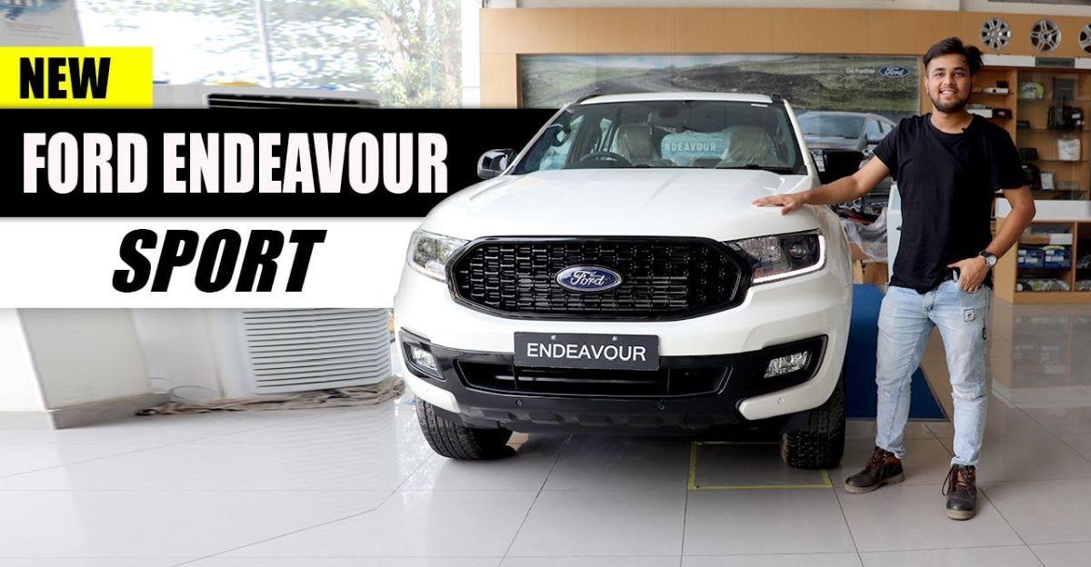 वीडियो पर आगामी, 2020 Ford Endeavour Sport देखें: 22 सितंबर को लॉन्च
