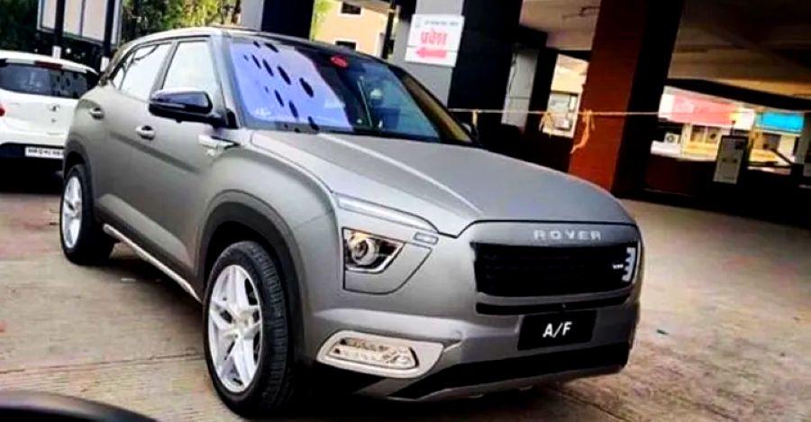 All-new Hyundai Creta मॉडिफाइड हो गई: Range Rover बनना चाहता है